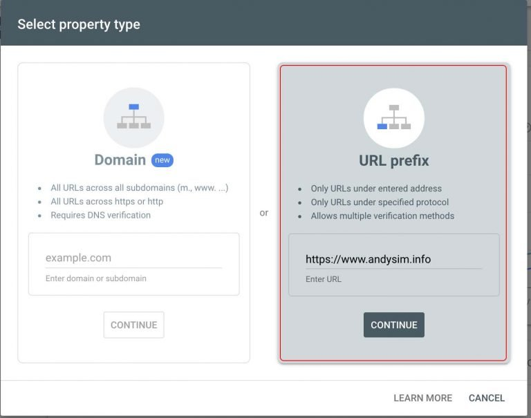 Google Search Console Cambodia SEO Verify Ownership